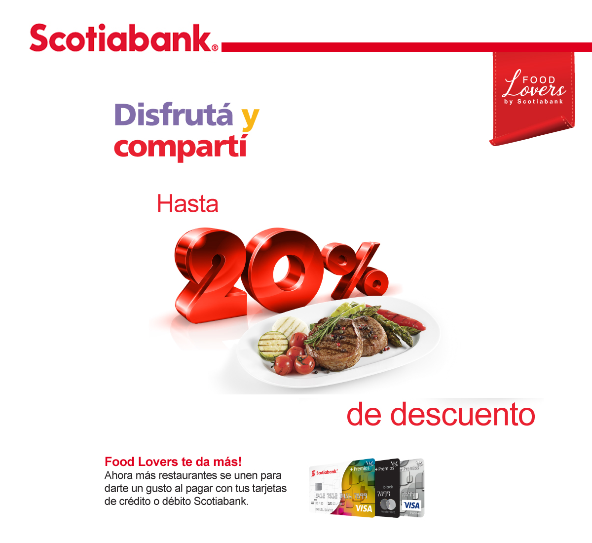 SCOTIABANK FOOD LOVERS